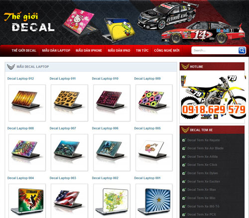 thegioidecal.com.vn