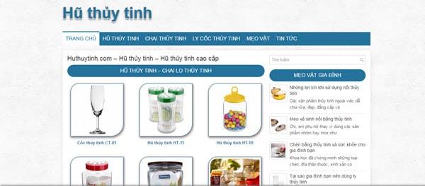 Hũ thủy tinh – huthuytinh.com