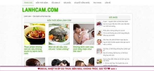 Lãnh cảm – lanhcam.com