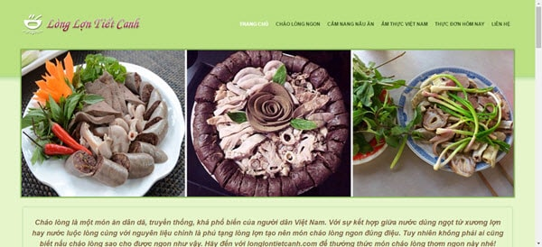 Lòng lợn tiết canh – longlontietcanh.com
