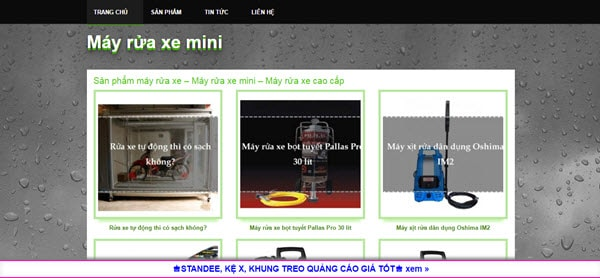 Máy rửa xe mini - mayruaxemini.com