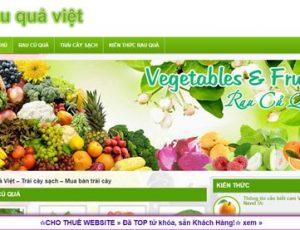 Rau quả Việt - rauquaviet.com