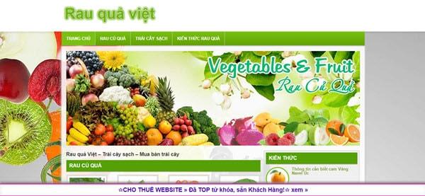 Rau quả Việt – rauquaviet.com