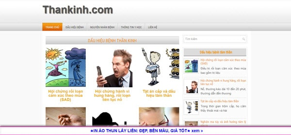 Thần kinh - thankinh.com