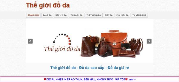 Thế giới đồ da - thegioidoda.com