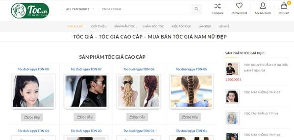 Tóc giả đẹp – Tocgia.com