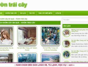 Vườn trái cây - vuontraicay.com