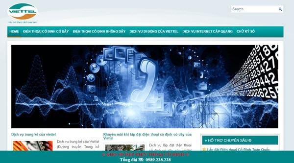 Viễn thông Viettel – viettelnet.com.vn