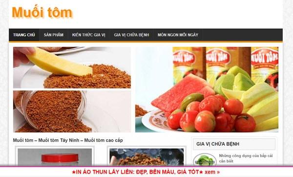 Muối tôm – muoitom.com